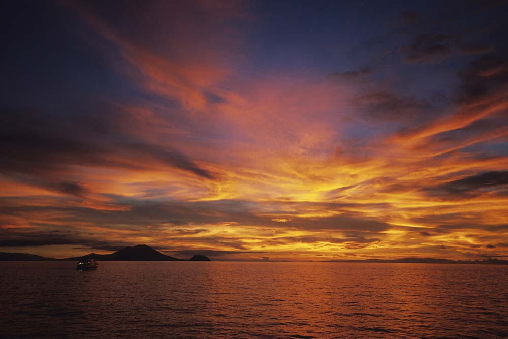 Whitsunday wedding venues with sunset