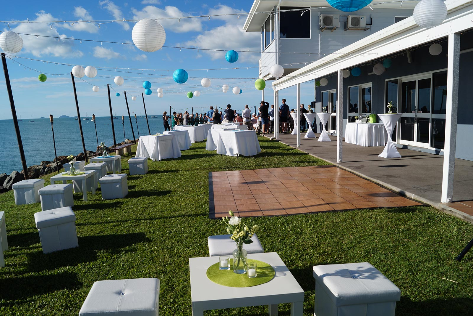 Marine club whitsundays the best waterfront venue in the for Garden pool party 2015