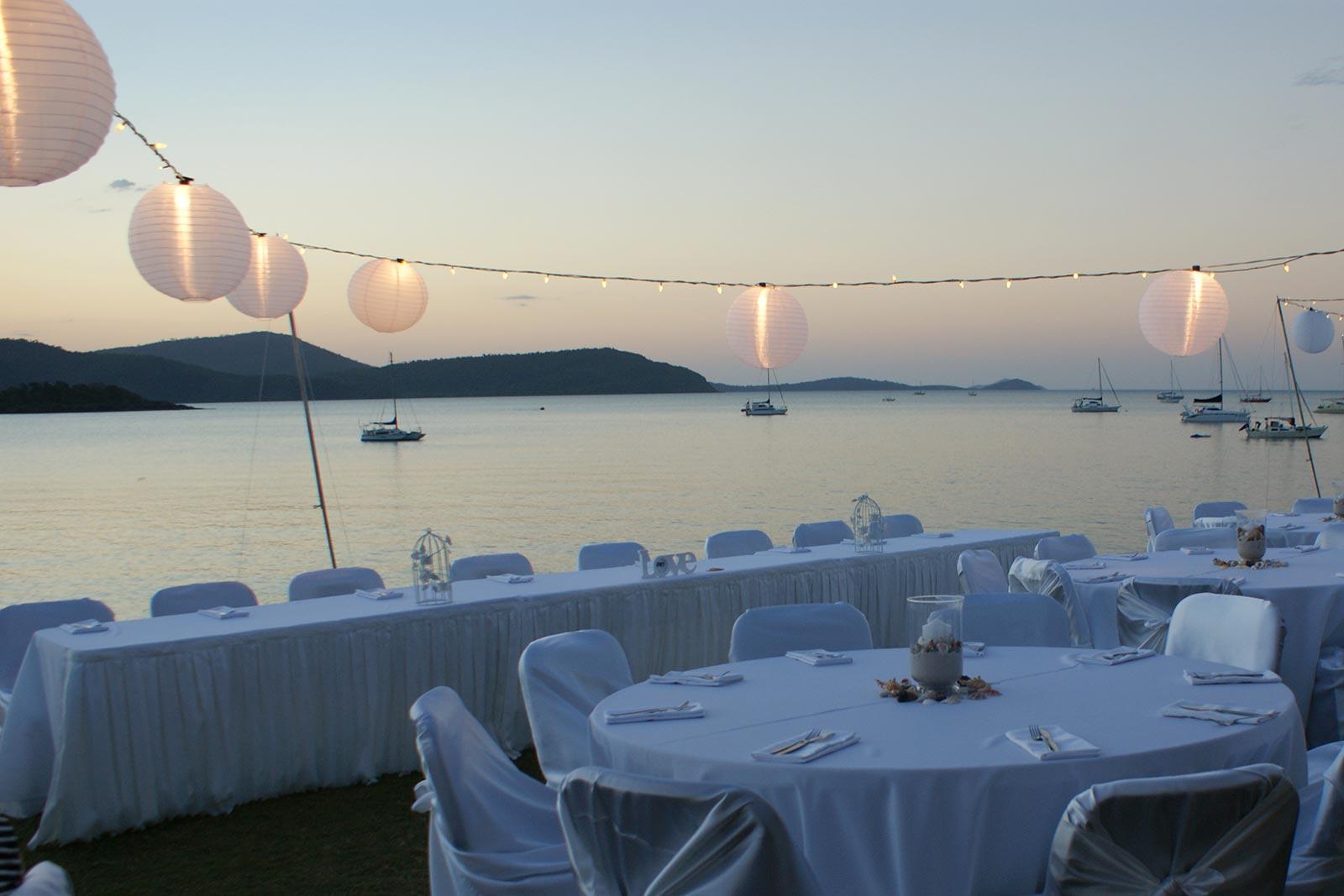 Whitsunday Outdoor Wedding Reception5